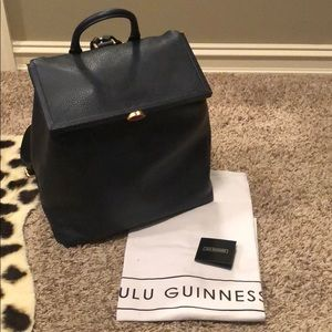 Lulu Guinness Jasmina leather backpack